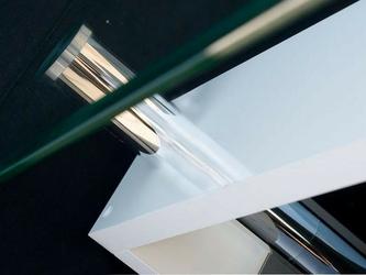 Ława szklana gene biały