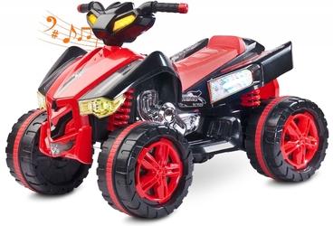 Toyz raptor czerwony quad dla dziecka
