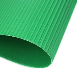 Tektura falista e 25x35 cm folia - zielony - ziel