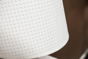 Lampka nocna biała h - 38 cm