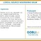 Loreal source nourishing balm, maska do włosów zniszczonych 300ml