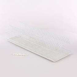 Suszarka do naczyń do szafki 80 cm  szafkowa biała z tacką