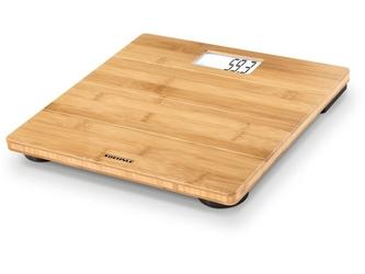 Elektroniczna waga łazienkowa bamboo natural
