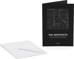 Kartka z kopertą Find Me Architects