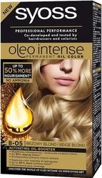 Syoss oleo, farba do włosów, 8-05 beżowy blond