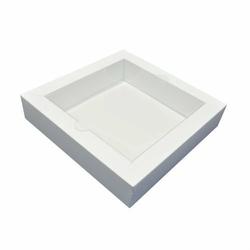 Pudełko Shadow Box białe 18,6 cm GoatBox