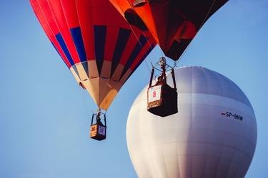 Mistrzostwa balonowe - plakat premium wymiar do wyboru: 84,1x59,4 cm