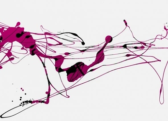 Abstrakcja - fototapeta