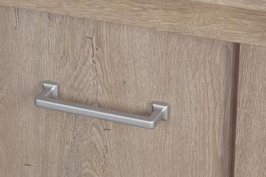 Klasyczna szafka pod telewizor z półką vetis dąb naturalny