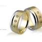 Obrączki ślubne - wzór au-250