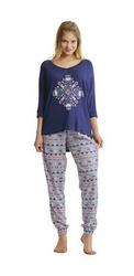 Key lhs 830 a8 piżama damska