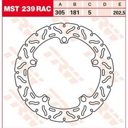 Trw tarcza hamulcowa trw mst239rac  bmw k 1200 lt