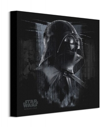 Star wars rogue one darth vader black - obraz na płótnie