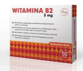 Witamina b2 3mg x 50 tabletek