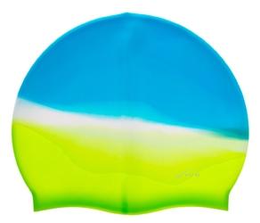 Czepek silikonowy vivo b-1308 multikolor niebiesko-zielony