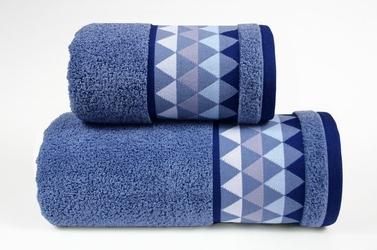 Men way denim ręcznik bawełniany greno