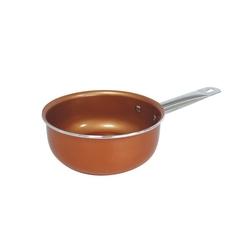 Rondel miedziany copper pan 18 cm
