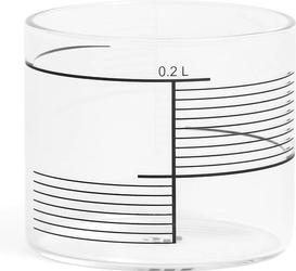 Szklanki 0,2 l w komplecie 4 szt. tre Square Stripes