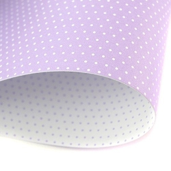 Papier ozdobny w kropki 300g 24x34 cm fioletowy jasny - fiojas