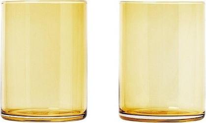 Szklanka mera 0,22 l, 2 szt. dull gold