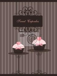 Plakat cupcake projektu