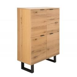 Kredens drewniany Portland dąb