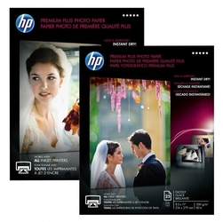 Hp premium plus glossy pho, foto papier, połysk, biały, a3, 300 gm2, 20 szt., cr675a, atrament