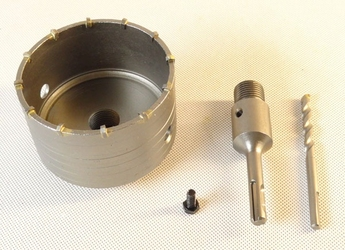 Otwornica do betonu sds plus 100 mm falon-tech
