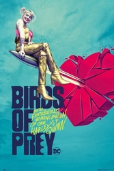 Birds of prey broken heart - plakat