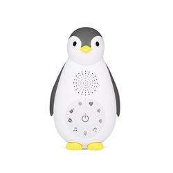 Lampka- usypianka z głośnikiem zazu pingwin grey