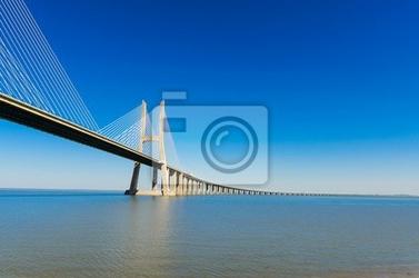 Fototapeta most vasco da gama w lizbonie, portugalia