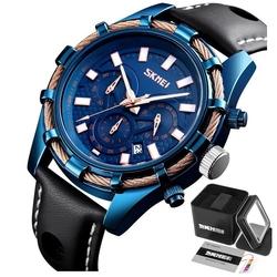 Zegarek męski skmei 9189 niebieski wodoodporny