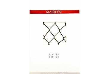 Charly N57 MARILYN rajstopy kabaretki ze złotą nitką