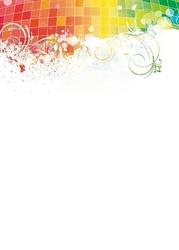 099 abstrakcja tablica suchościeralna