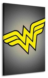 Dc Comics Wonder Woman Symbol - Obraz na płótnie