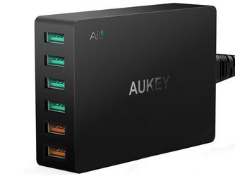 Aukey pa-t11 ładowarka sieciowa 6x usb quick charge