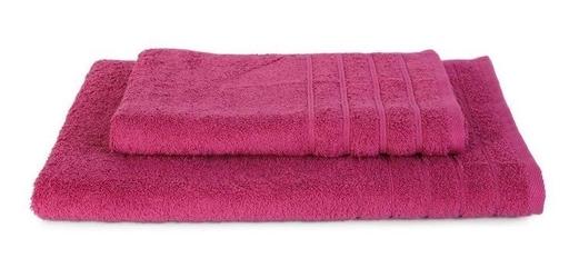 Ręcznik elegant, fuksja andropol 50 x 100