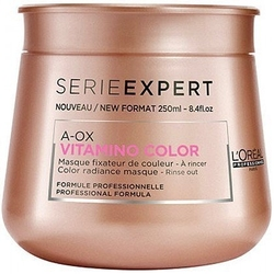 Loreal vitamino color aox, maska po farbowaniu, odbudowuje strukturę włosa 250ml