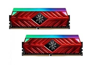 Adata pamięć xpg spectrix d41 ddr4 3200 16gb 2x8 red
