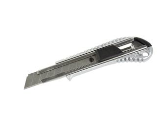 Nóż nożyk aluminiowy uniwersalny 18 mm do tapet, wykładzin geko