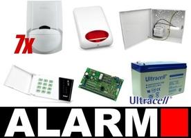 Zestaw alarmowy satel ca-10 led, 5 czujek, sygnalizator zewnętrzny - możliwość montażu - zadzwoń: 34 333 57 04 - 37 sklepów w całej polsce