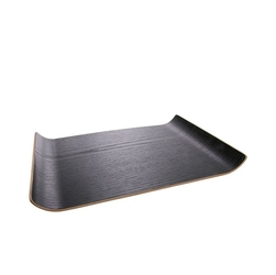 Hkliving drewniana taca rozmiar m czarna aoa9968