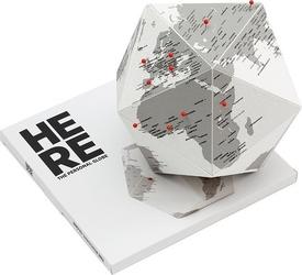 Dekoracja globus origami here by me l