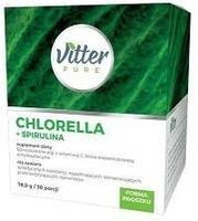 Vitter pure chlorella + spirulina 75g30 porcji
