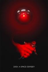 2001: odyseja kosmiczna - plakat premium wymiar do wyboru: 21x29,7 cm