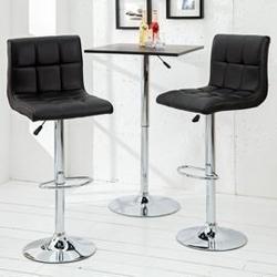 Interior space :: hoker  krzesło barowe mutina new czarne