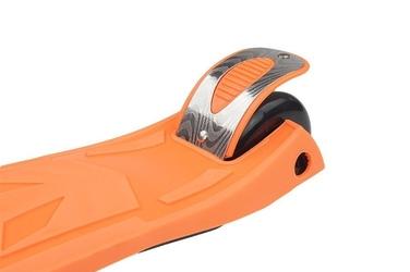 Hulajnoga vivo skl-7d 3-kołowa świecąca z melodyjką orange