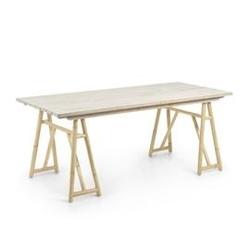 Drewniany stół trava 75x85 cm