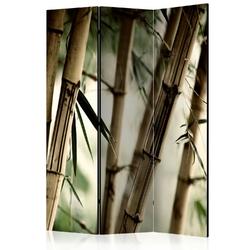 Parawan 3-częściowy - fog and bamboo forest room dividers