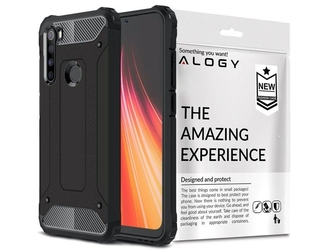Etui alogy hard armor do xiaomi redmi note 8 czarne
